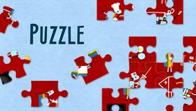 Puzzle: Ovečky a špunti