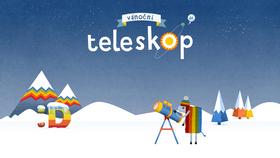 Vánoční teleskop