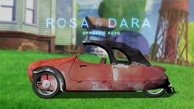 Rosa a Dara spravují auto